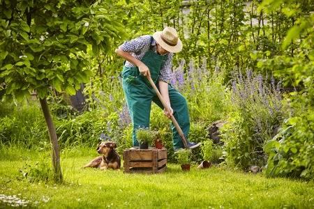 Tuinwerker