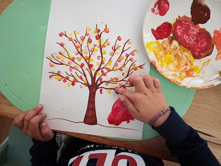 Vingerprintboom